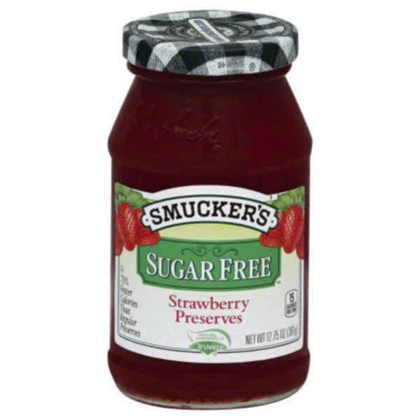 Smucker's Sugar Free Strawberry Preserves Spread