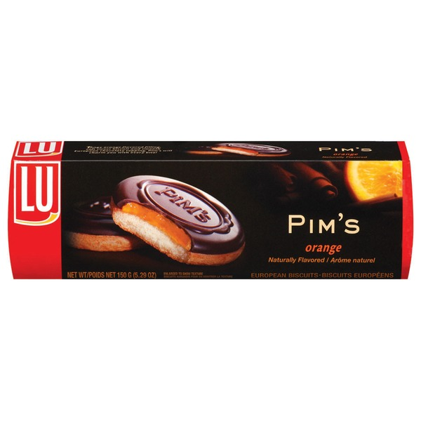 Lu Pim's Orange European Biscuits