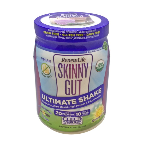 ReNew Life Skinny Gut Ultimate Vanilla Shake