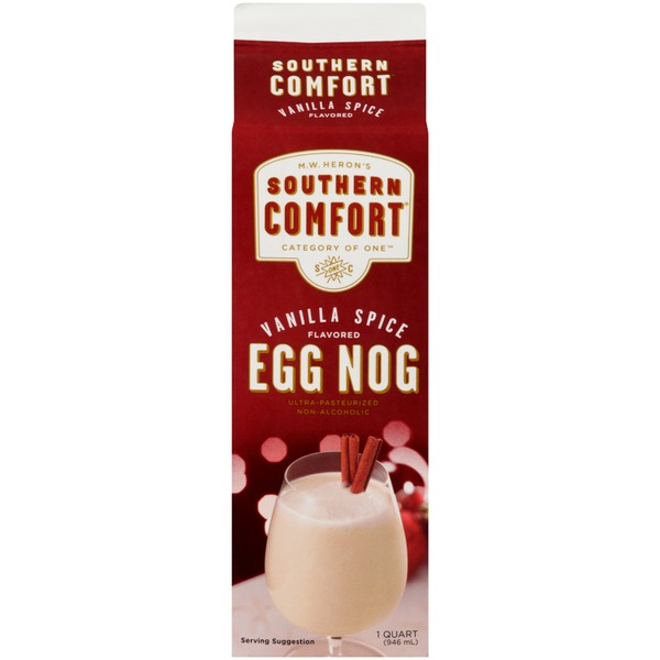 Southern Comfort Vanilla Spice Flavored Non-Alcoholic Egg Nog