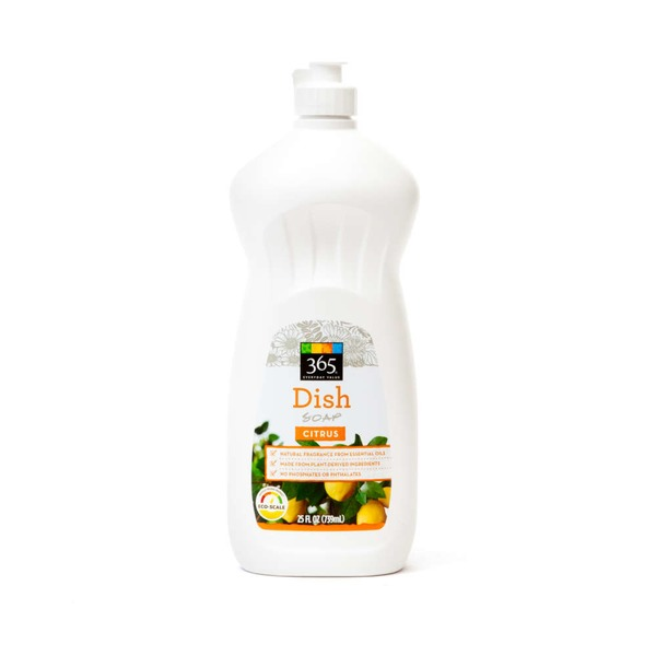 365 Citrus Dish Soap