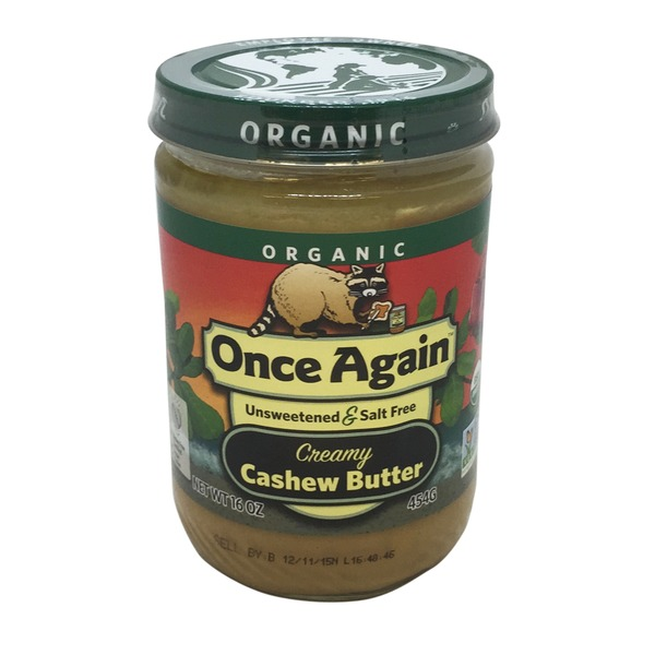 Once Again Cashew Butter, Organic