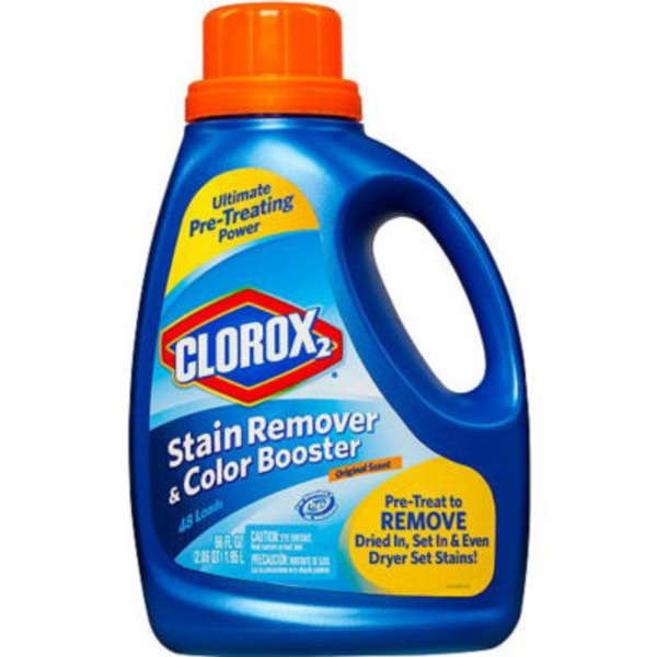 Clorox 2 Laundry Stain Remover and Color Booster, Original, 66 Ounces