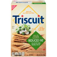 Nabisco Triscuit Baked Whole Grain Wheat Reduced Fat Crackers