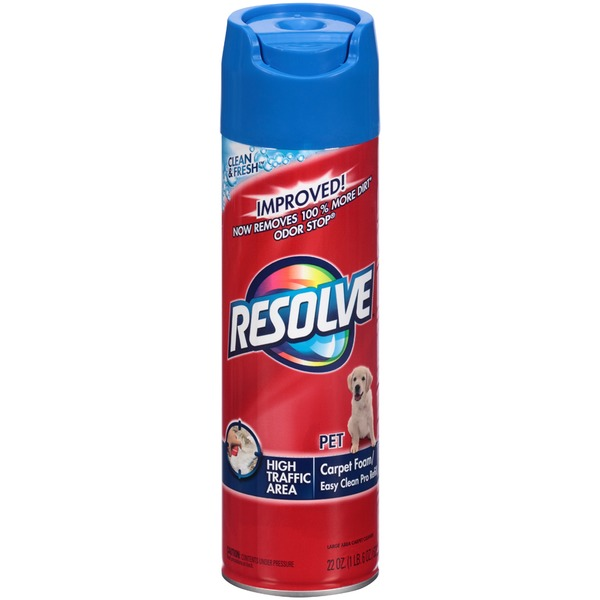 Resolve (Carpet) Pet High Traffic Area Foam Easy Clean Pro Refill Carpet Cleaner
