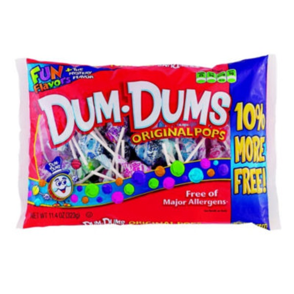 Dum Dum Pops Dum Dums Original Pops Assorted Bag