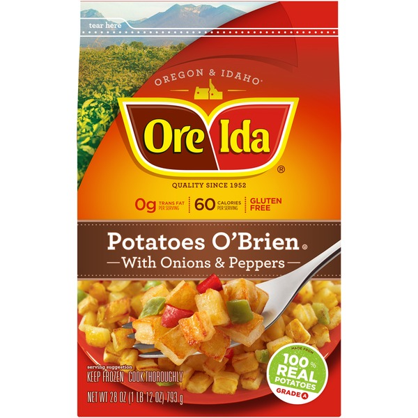 Ore Ida With Onions & Peppers Potatoes O'Brien