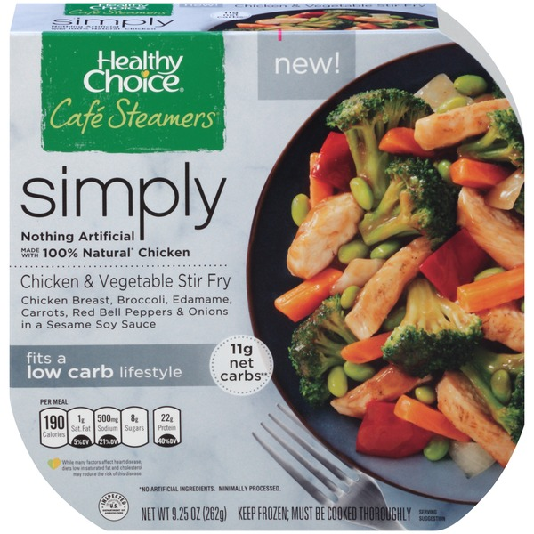 Healthy Choice Chicken & Vegetable Stir Fry Café Steamers