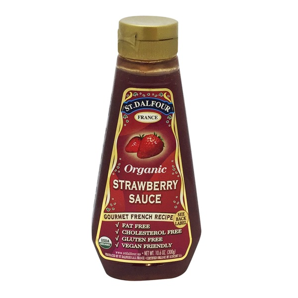 St. Dalfour Organic Strawberry Sauce