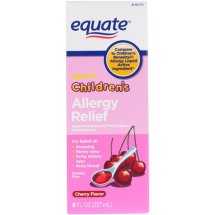 Equate Children's Allergy Relief Cherry Suspension, 8 Oz