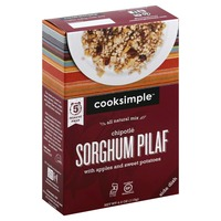 Cooksimple Sorghum Pilaf, Chipotle
