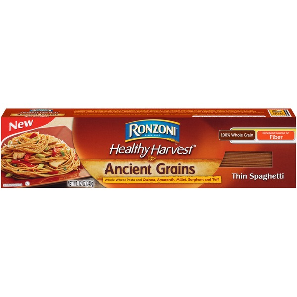 Ronzoni Healthy Harvest Ancient Grains Thin Spaghetti