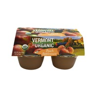 Vermont Village Applesauce USDA Organic Peach Applesauce
