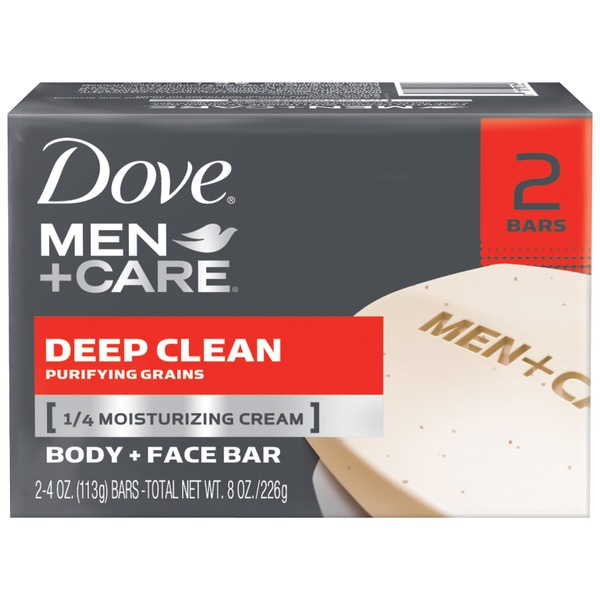 Dove Men+Care Deep Clean Body and Face Bar