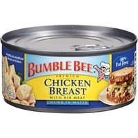 Bumble Bee Chunk With Rib Meat In Water Chicken Breast