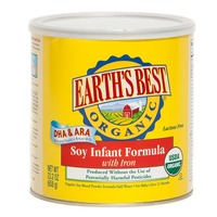 Earth's Best Organic Soy Infant Formula with Iron