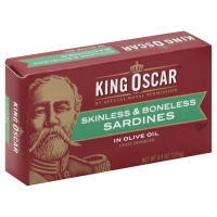 King Oscar Sardines Skinless/Boneless