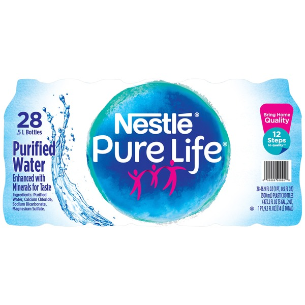 H-E-B Nestle Pure Life Purified Water Delivery Online in
