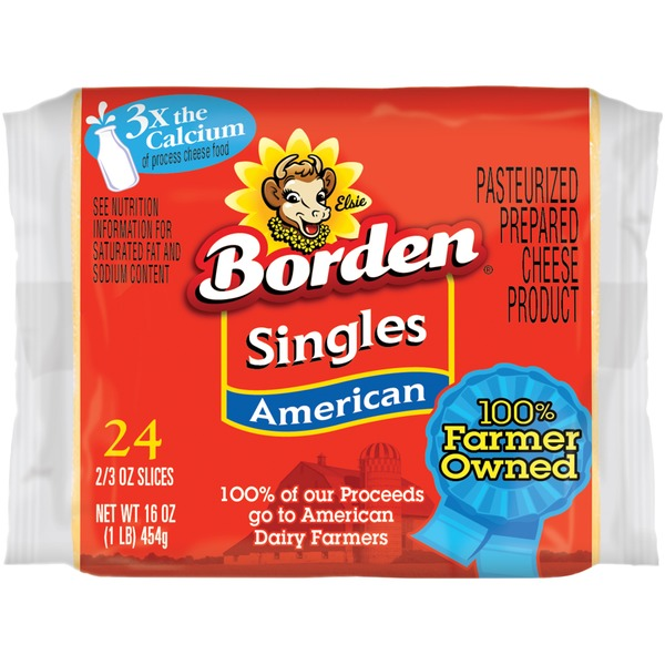 Borden American Singles Cheese