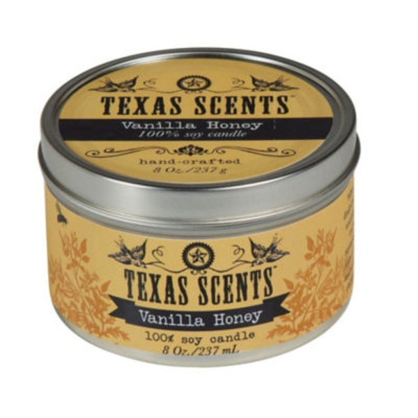 Level Naturals Texas Scents Vanilla Honey Soy Candle