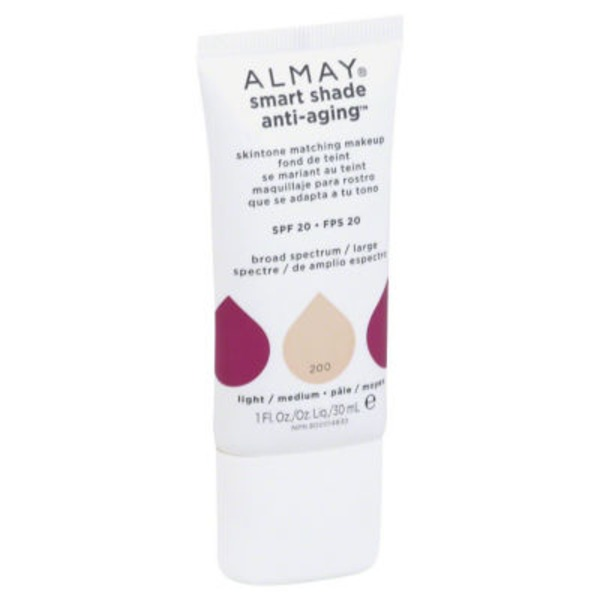 Almay Smart Shade Anti-Aging Skintone Matching Makeup - Light/Medium