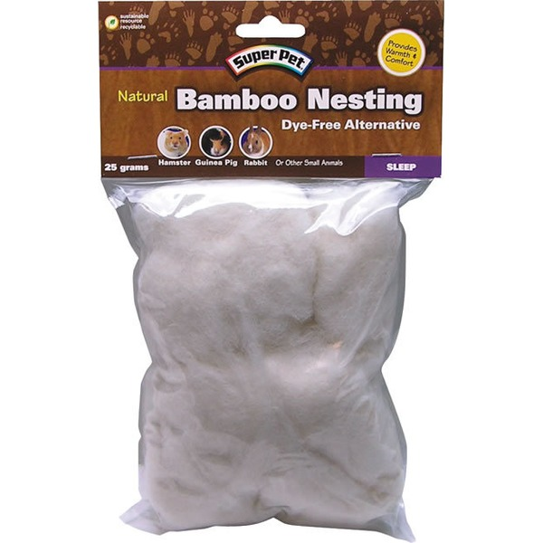 Super Pet Natural Bamboo Nesting Dye Free Alternative
