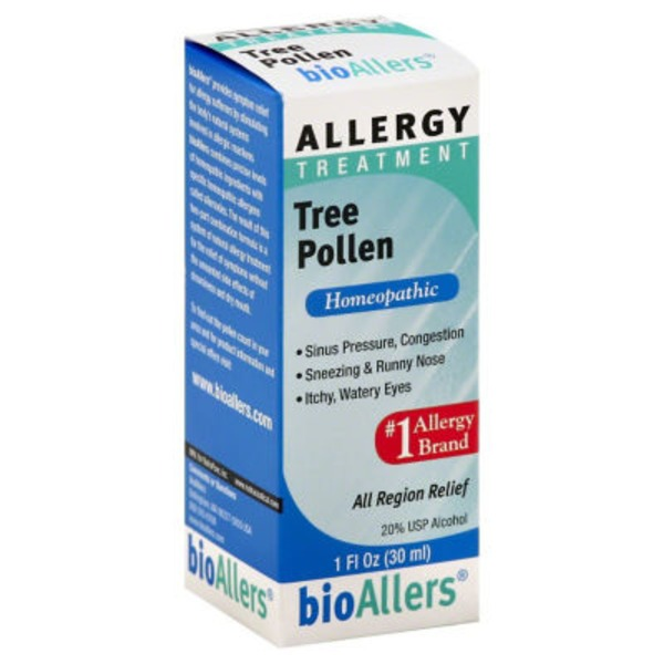 bioAllers Allergy Treatment, Tree Pollen