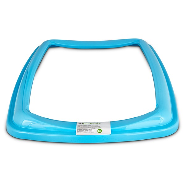 So Phresh Aqua Blue X Large Open Litter Box Rim