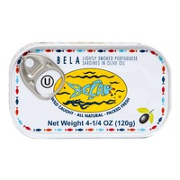 Bela Lightly Smoked Sardines in Olive Oil