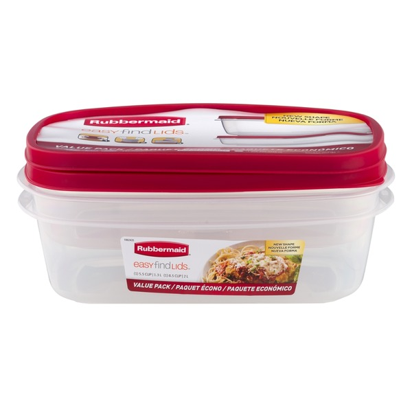 Rubbermaid Easy Find Lids Value Pack - 2 CT