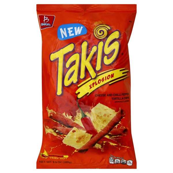 Takis Xplosion Cheese And Chili Pepper Tortilla Chips