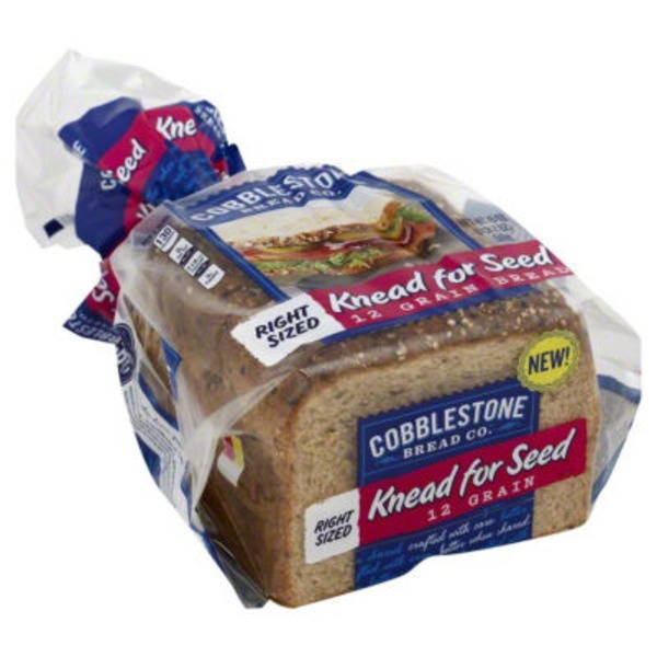 Cobblestone Mill Knead for Seed 12 Grain Bread