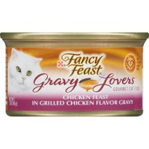 Purina Fancy Feast Gravy Lovers Chicken Feast in Grilled Chicken Flavor Gravy Cat Food 3 oz. Can