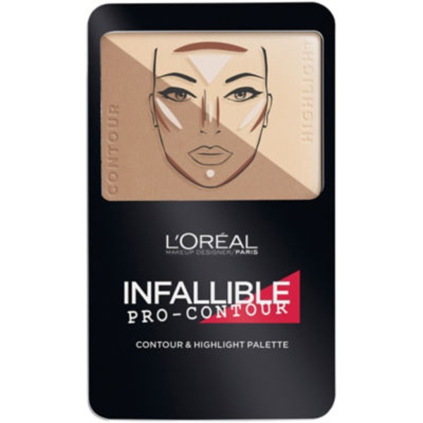 Infallible 813 Light/Clair Pro Contour Palette