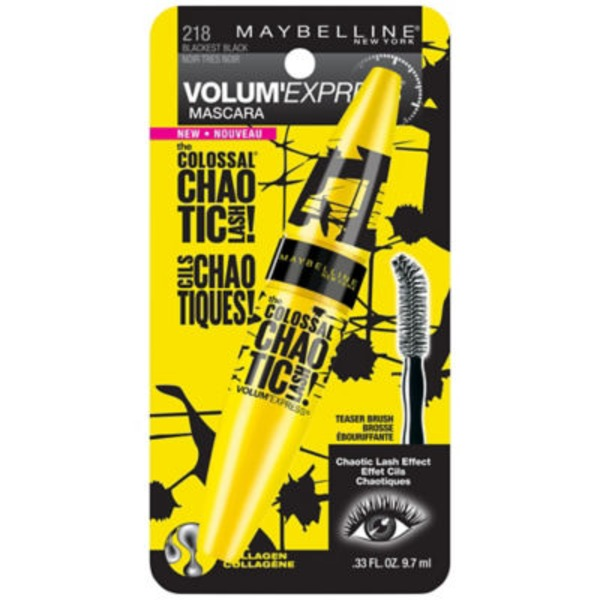Volum' Express® The Colossal Washable Mascara Chaotic Lash