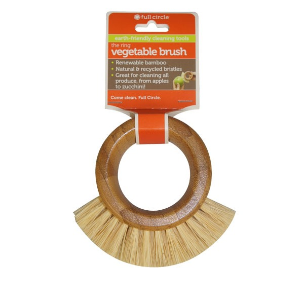 Full Circle Cleaning Products The Ring Vegetable Brush