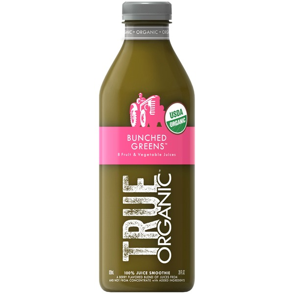 True Organic Bunched Greens 100% Juice Smoothie