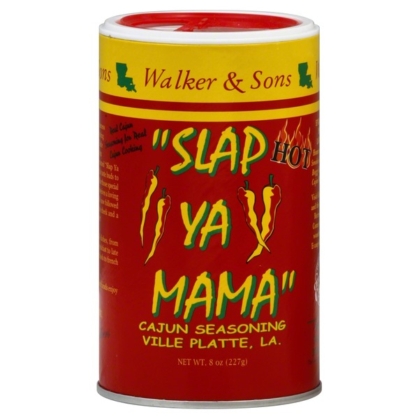 Walker & Sons Slap Ya Mama Hot Cajun Seasoning