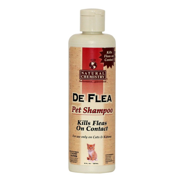 Natural Chemistry De Flea Pet Shampoo For Cats