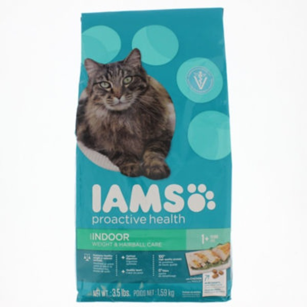 Iams ProActive Health Indoor Weight & Hairball Care with Chicken Cat Food