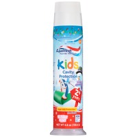Aquafresh Kids Cavity Free Bubble Mint Fluoride Toothpaste