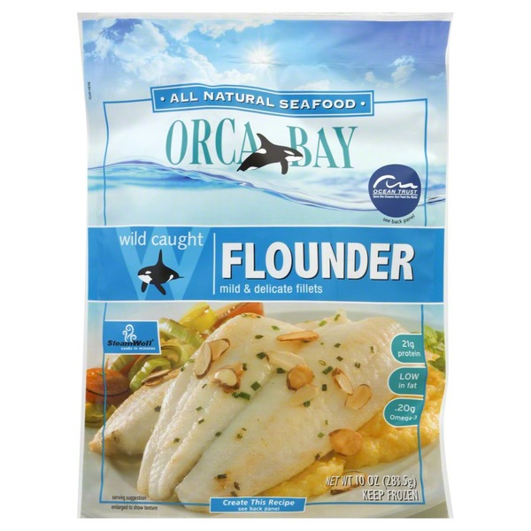 Orca Bay Seafoods Flounder, Wild Caught