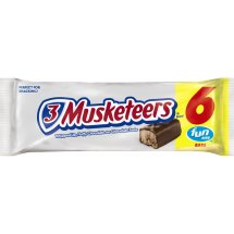 3 Musketeers Fun Size Candy Bars, 0.48 oz, 6 ct