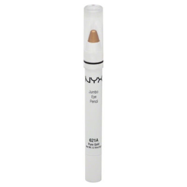 NYX Eye Pencil, Jumbo, Pure Gold 621A