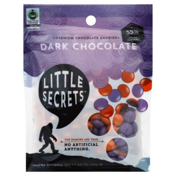 Little Secrets Dark Chocolate Candy