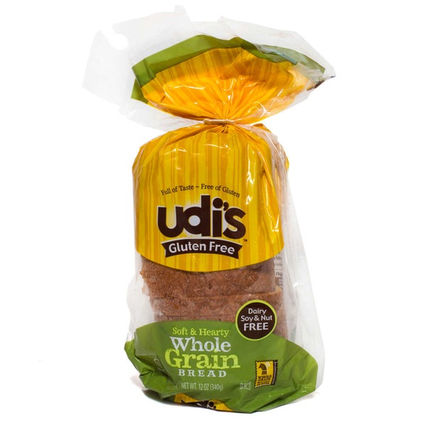 Udi's Gluten Free Whole Grain Bread