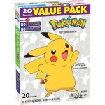 Betty Crocker Nintendo Pokémon Fruit Flavored Snacks Assorted Fruit, 20 ct, 16 oz, 20.0 CT