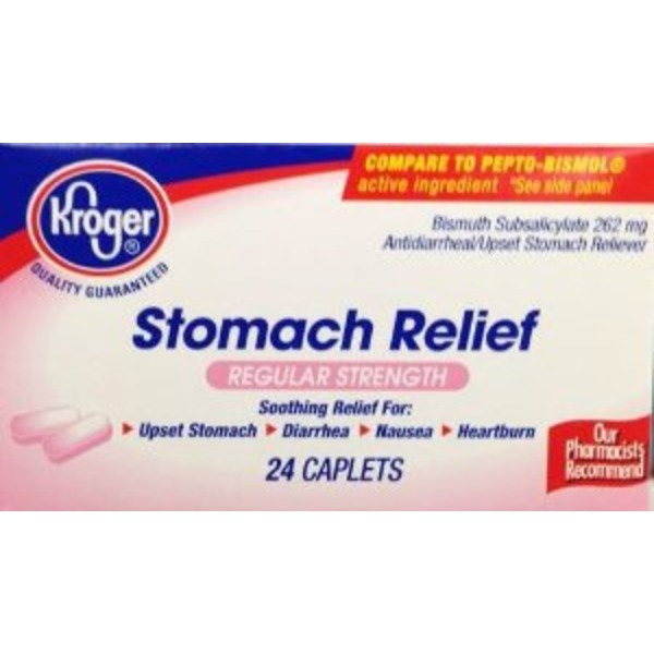 Kroger Stomach Relief 262 Mg Caplets