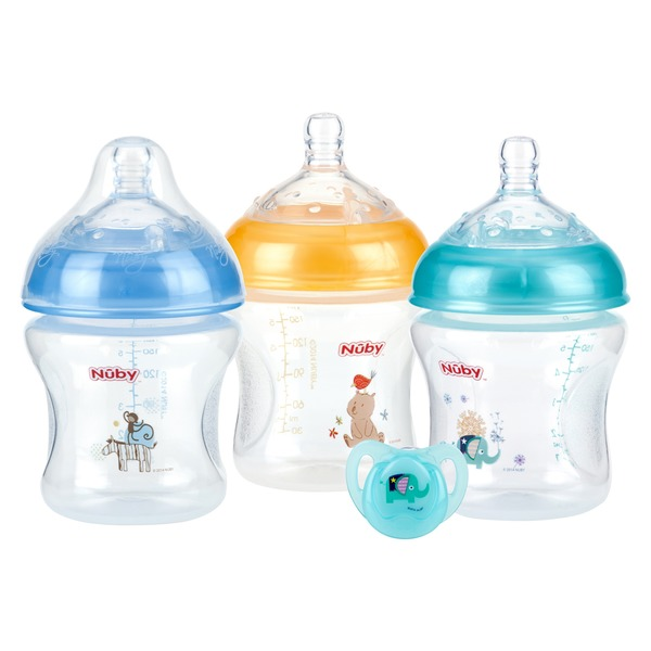 Nuby Natural Touch Baby Bottles