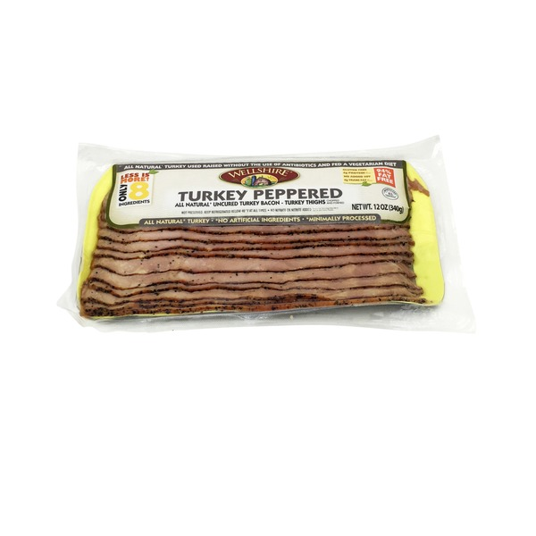 Wellshire Farms Peppered Turkey Bacon